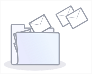 Image of the organize email collage.